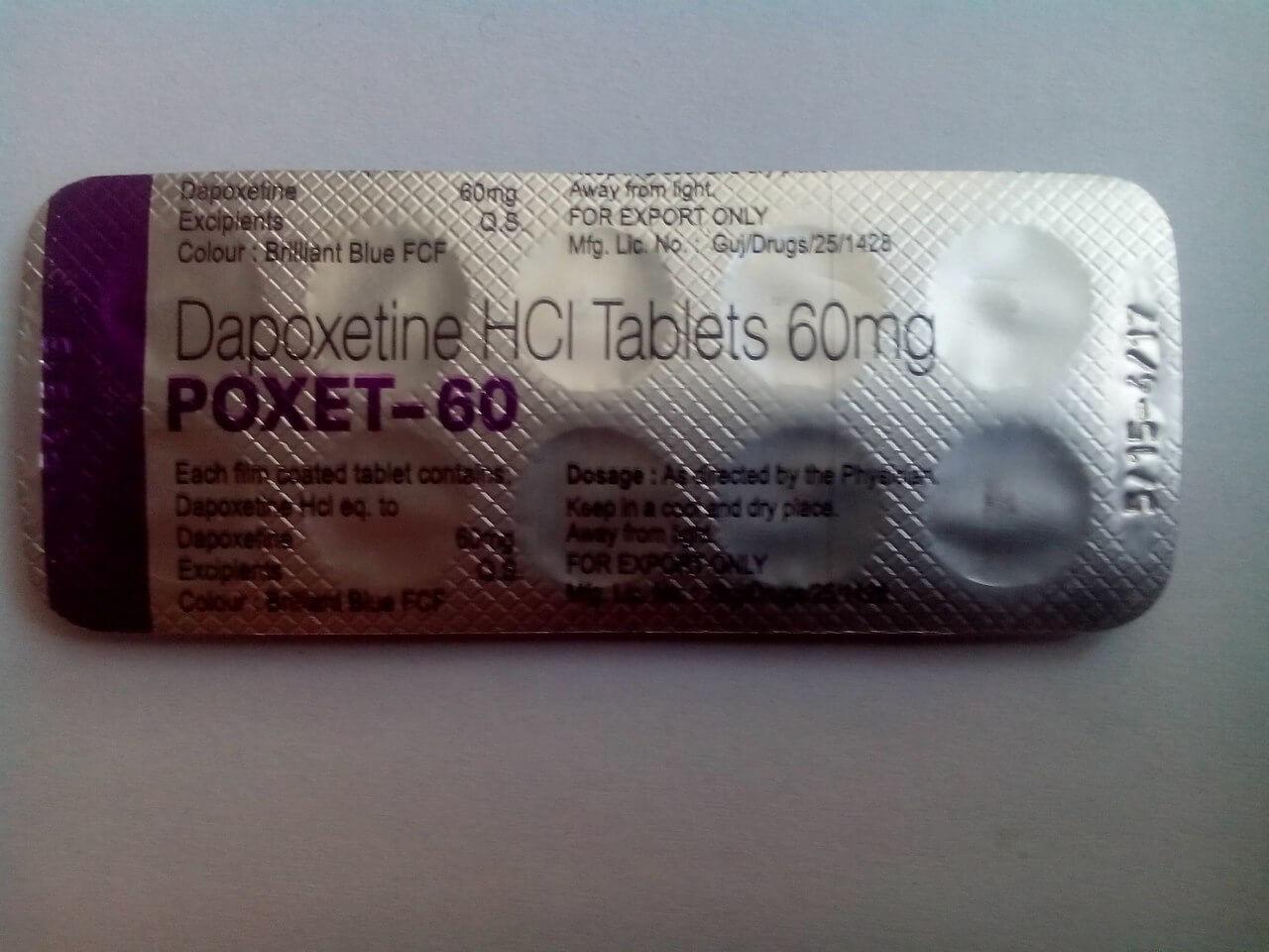 Дапоксетин инструкция и описание к препарату